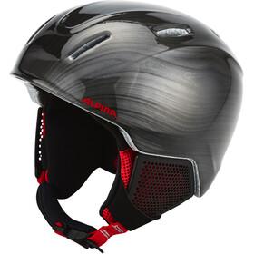 Alpina Carat LX Ski Helmet Kids black-lumberjack